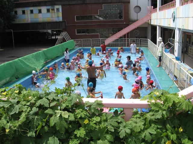 てつや先生と水泳教室